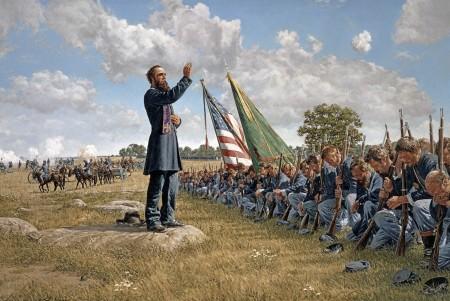 Absolution at Gettysburg by Bradley Schmehl