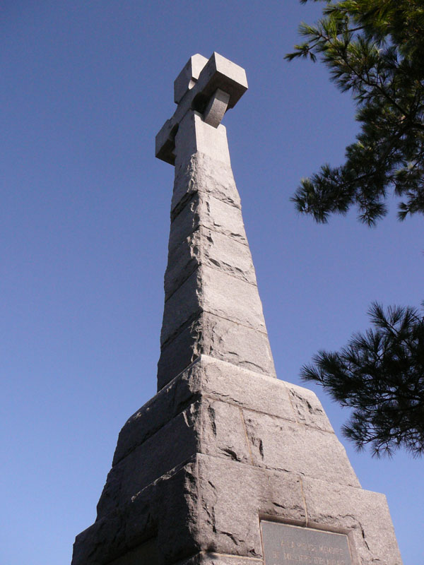 The Celt Cross at Grosse Ile
