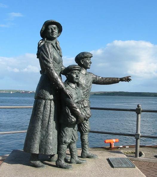 Annie Moore Statue Cork